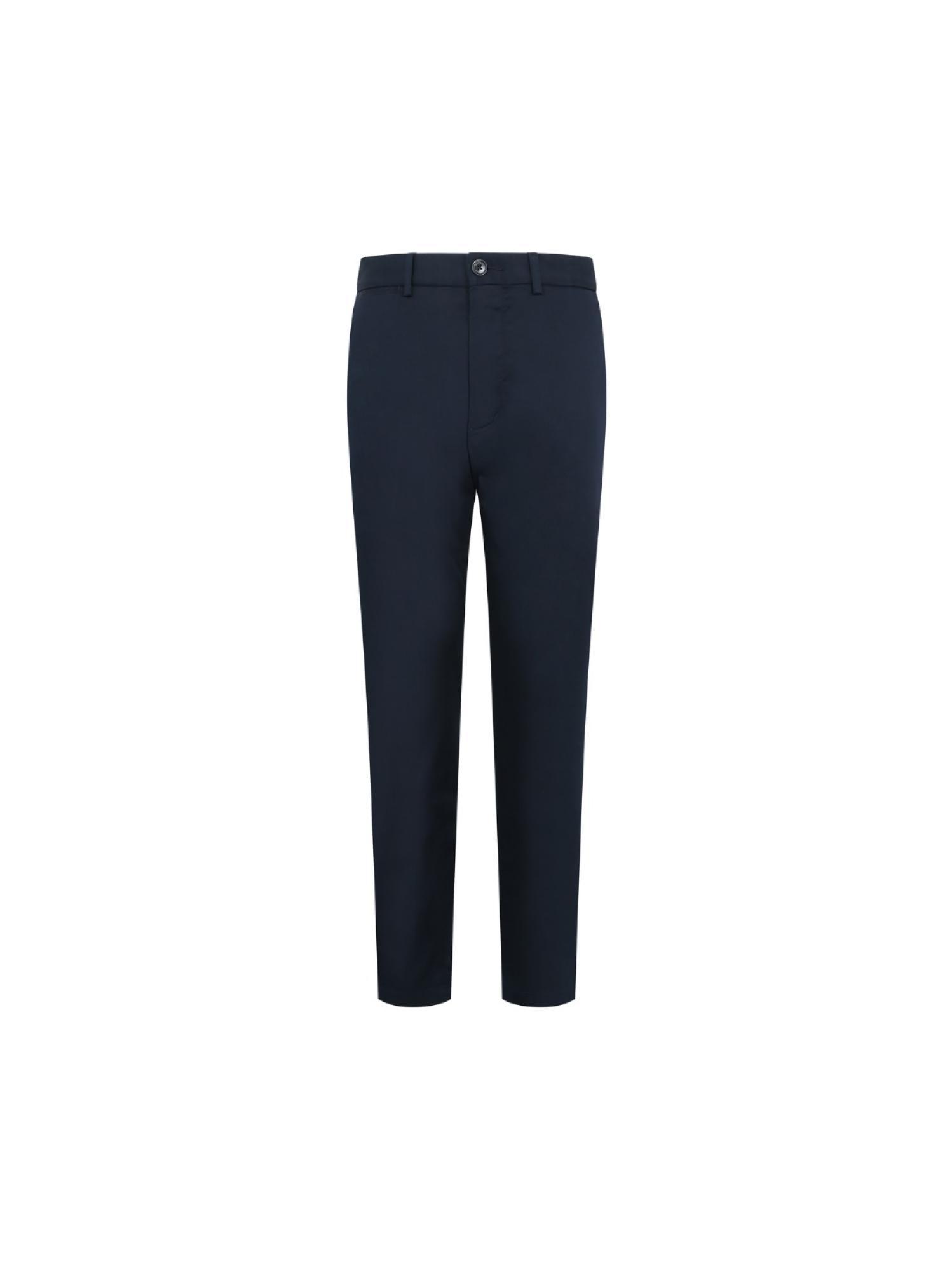 斜纹休闲长裤