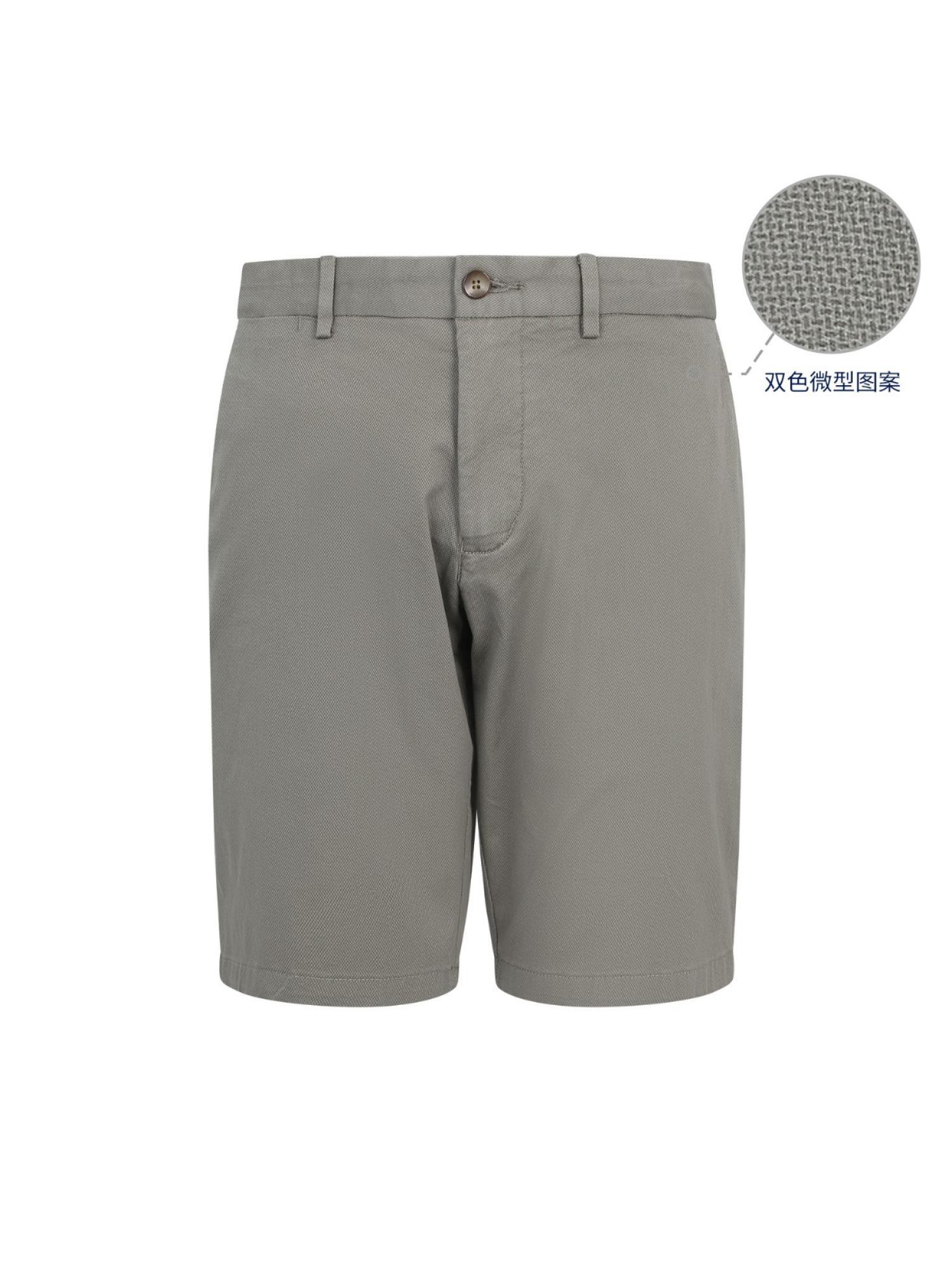休闲西装短裤