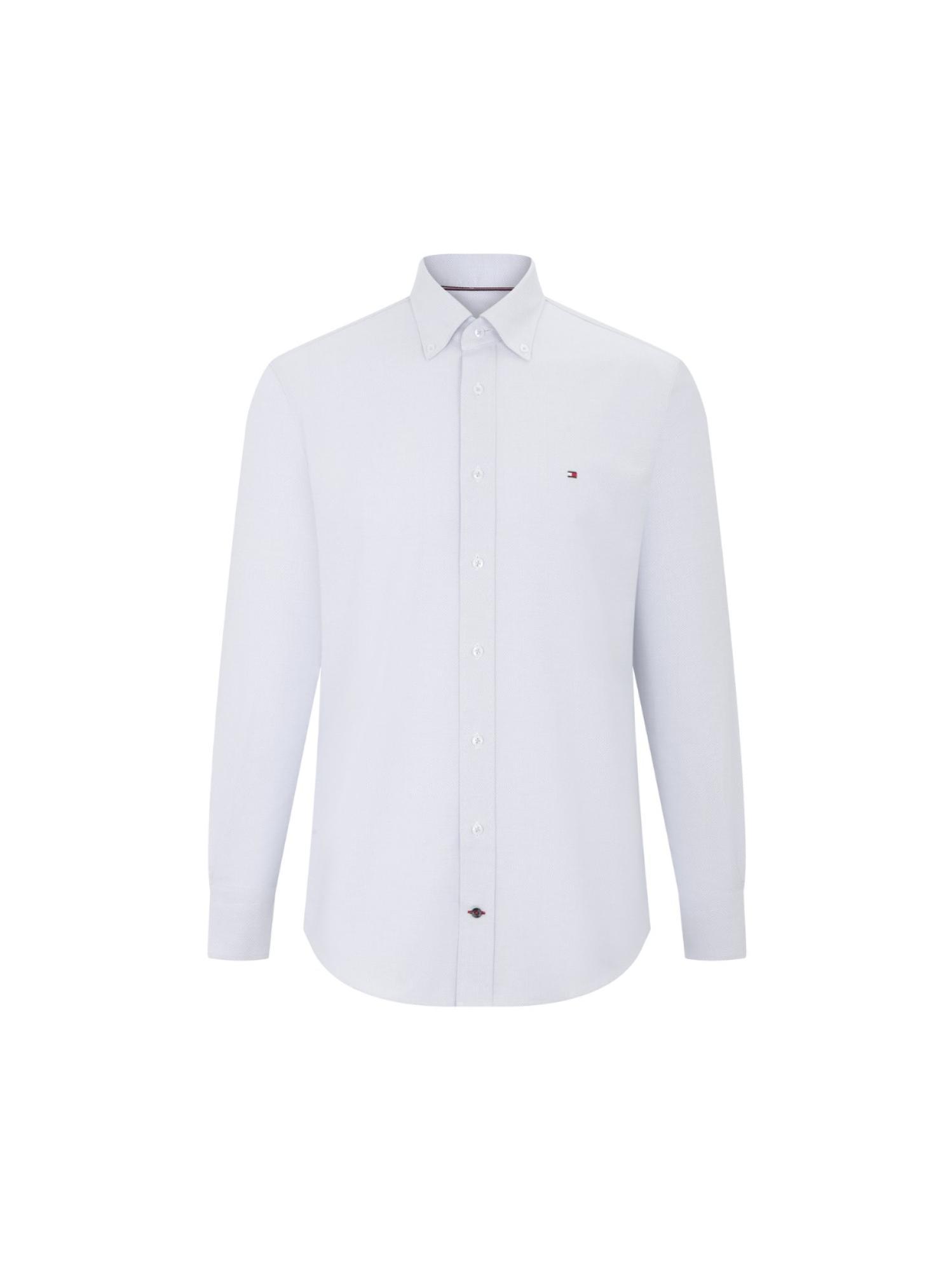 修身长袖衬衫